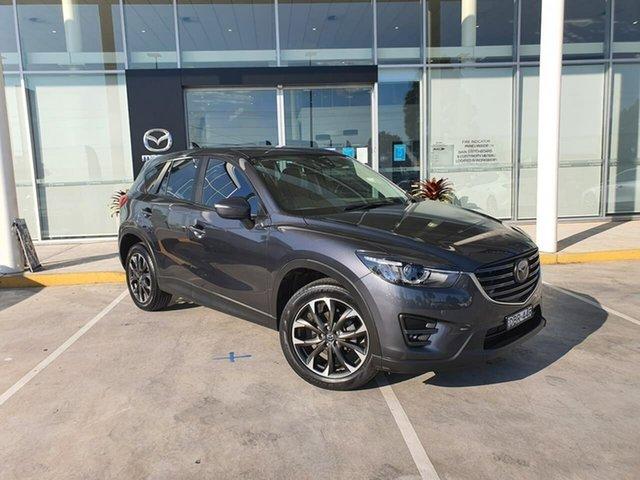 Used Mazda CX-5 KE1022 Akera SKYACTIV-Drive AWD Kirrawee, 2015 Mazda CX-5 KE1022 Akera SKYACTIV-Drive AWD Grey 6 Speed Sports Automatic Wagon