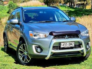 2016 Mitsubishi ASX XB MY15.5 LS 2WD Titanium 6 Speed Constant Variable Wagon.