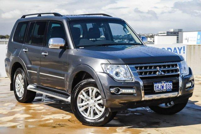 Used Mitsubishi Pajero NX MY18 Exceed Osborne Park, 2018 Mitsubishi Pajero NX MY18 Exceed Grey 5 Speed Sports Automatic Wagon