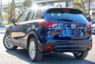 2013 Mazda CX-5 KE1021 MY13 Grand Touring SKYACTIV-Drive AWD Stormy Blue 6 Speed Sports Automatic.