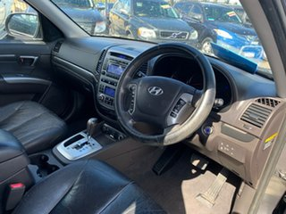 2009 Hyundai Santa Fe CM MY10 Highlander CRDi (4x4) Grey 6 Speed Automatic Wagon