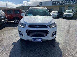 2017 Holden Captiva CG MY18 7 LTZ (AWD) White 6 Speed Automatic Wagon.