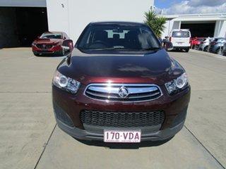 2014 Holden Captiva CG MY14 7 LS Maroon 6 Speed Sports Automatic Wagon.