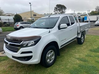 2016 Holden Colorado RG MY17 LS (4x4) White 6 Speed Automatic Space Cab Chassis