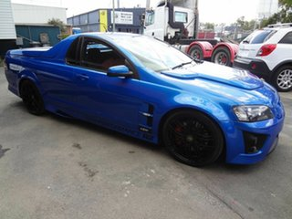 2008 Holden Special Vehicles Maloo E Series MY08 Upgrade R8 Blue 6 Speed Manual Utility