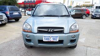 2009 Hyundai Tucson JM MY09 City SX Silver 4 Speed Sports Automatic Wagon.