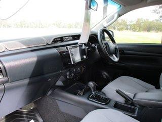 2017 Toyota Hilux GUN126R SR (4x4) Glacier White 6 Speed Automatic Dual Cab Chassis