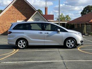 2015 Honda Odyssey RC MY16 VTi Silver 7 Speed Constant Variable Wagon.