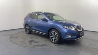 2020 Nissan X-Trail T32 MY21 Ti X-tronic 4WD Blue 7 Speed Constant Variable Wagon