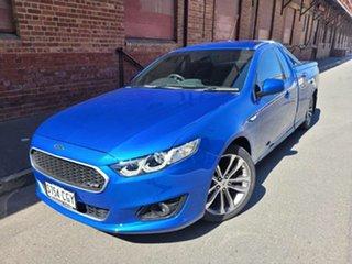 2015 Ford Falcon FG X XR6 Ute Super Cab Kinetic Blue/grey Cloth 6 Speed Sports Automatic Utility.