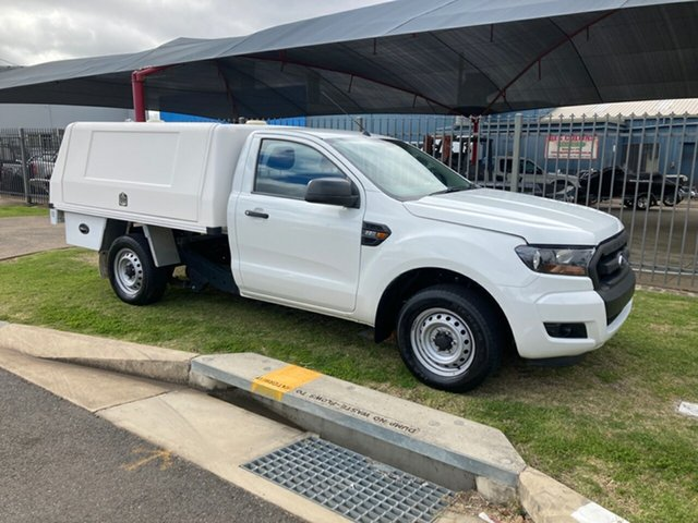 Used Ford Ranger PX MkII XL 2.2 (4x2) Toowoomba, 2015 Ford Ranger PX MkII XL 2.2 (4x2) White 6 Speed Manual Cab Chassis