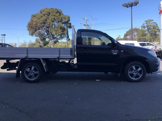 2010 Toyota Hilux TGN16R MY11 Upgrade Workmate Ink 5 Speed Manual Cab Chassis.