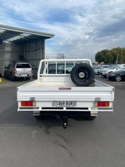 2018 Toyota Hilux GUN126R SR Double Cab White 6 Speed Manual Cab Chassis