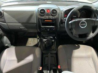 2012 Isuzu D-MAX MY11 SX White 5 Speed Manual Cab Chassis