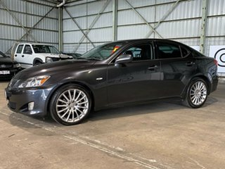 2007 Lexus IS GSE20R IS250 Prestige Charcoal 6 Speed Sports Automatic Sedan.