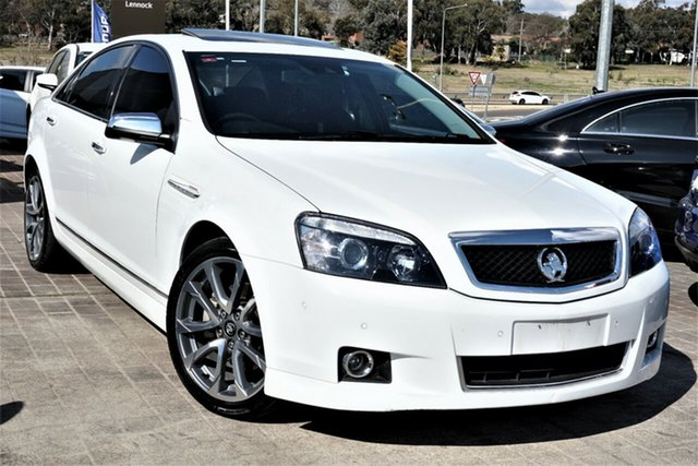 Used Holden Caprice WN II MY16 V Phillip, 2015 Holden Caprice WN II MY16 V White 6 Speed Sports Automatic Sedan