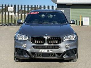 2016 BMW X6 F16 xDrive30d Coupe Steptronic Grey 8 Speed Sports Automatic Wagon.