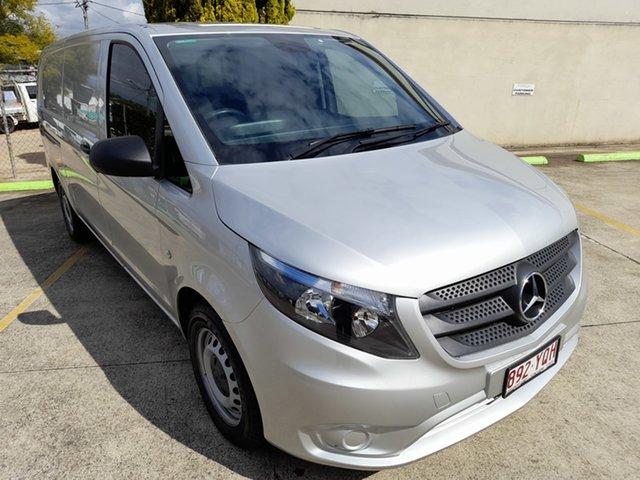 Used Mercedes-Benz Vito 447 114BlueTEC LWB 7G-Tronic + Toowoomba, 2018 Mercedes-Benz Vito 447 114BlueTEC LWB 7G-Tronic + Silver 7 Speed Sports Automatic Van