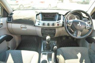 2012 Mitsubishi Triton MN MY12 GLX-R (4x4) Charcoal 5 Speed Manual 4x4 Double Cab Utility