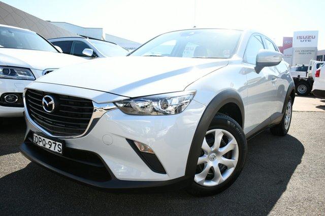 Used Mazda CX-3 DK Neo (FWD) Brookvale, 2017 Mazda CX-3 DK Neo (FWD) White 6 Speed Manual Wagon