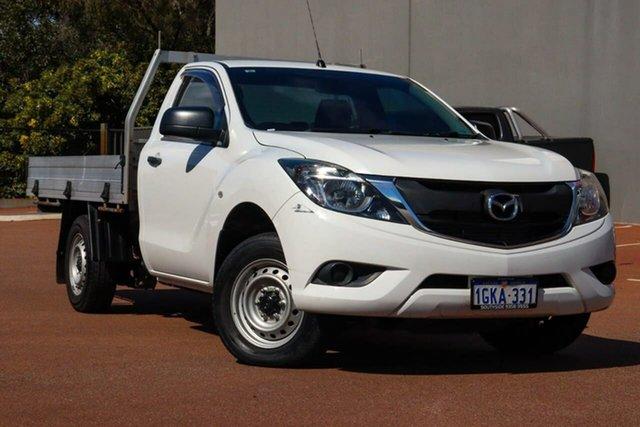 Used Mazda BT-50 UR0YD1 XT 4x2 Cannington, 2016 Mazda BT-50 UR0YD1 XT 4x2 White 6 Speed Manual Cab Chassis