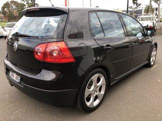 2005 Volkswagen Golf 1K GTi Black 6 Speed Direct Shift Hatchback