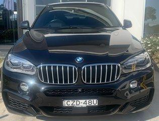2015 BMW X6 F16 xDrive50i Coupe Steptronic Black 8 Speed Sports Automatic Wagon.
