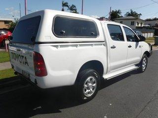 2009 Toyota Hilux KUN26R SR White 4 Speed Automatic Dual Cab.