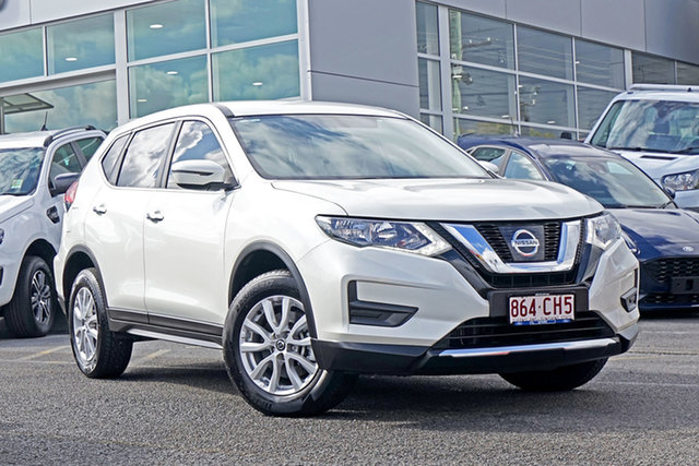 Used Nissan X-Trail T32 Series II TS X-tronic 4WD Springwood, 2017 Nissan X-Trail T32 Series II TS X-tronic 4WD White 7 Speed Constant Variable Wagon