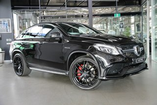 2016 Mercedes-Benz GLE-Class C292 GLE63 AMG Coupe SPEEDSHIFT PLUS 4MATIC S Black 7 Speed.