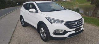 2017 Hyundai Santa Fe DM3 MY17 Active White 6 Speed Sports Automatic Wagon.
