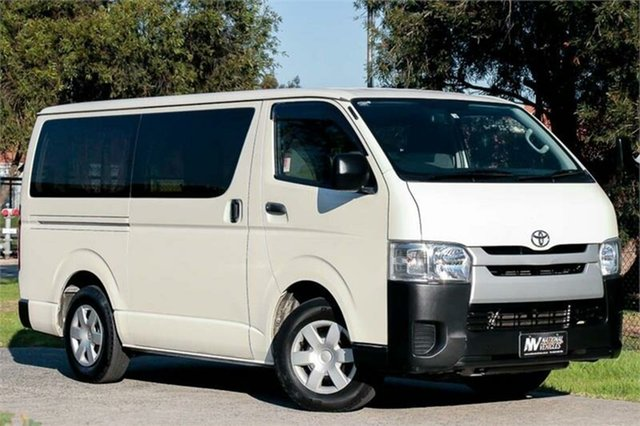 Used Toyota HiAce Braeside, 2016 Toyota HiAce KDH201V White 4 Speed Automatic Van