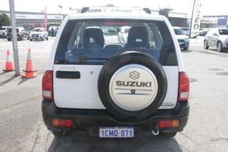 2004 Suzuki Grand Vitara SQ416 S3 JLX White 5 Speed Manual Hardtop.