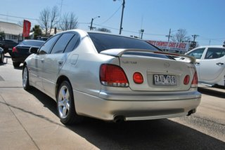 2000 Lexus GS300 JZS160R Silver 5 Speed Automatic E-Shift Saloon.