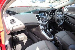 2010 Holden Cruze JG CD Red 5 Speed Manual Sedan