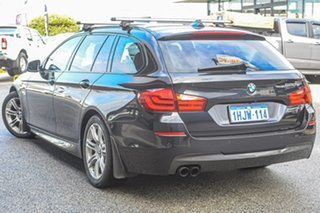2011 BMW 5 Series F11 520d Touring Steptronic Black 8 Speed Sports Automatic Wagon.