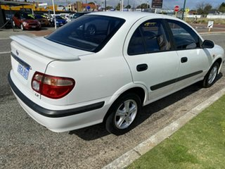 2002 Nissan Pulsar N16 LX White 4 Speed Automatic Sedan.