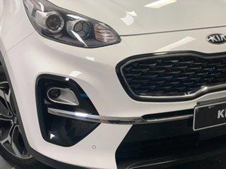 2019 Kia Sportage QL MY20 SX+ 2WD White 6 Speed Sports Automatic Wagon.