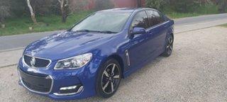 2017 Holden Commodore VF II MY17 SV6 Blue 6 Speed Sports Automatic Sedan.