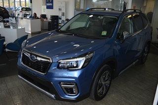 2021 Subaru Forester S5 MY21 2.5i-S CVT AWD Horizon Blue 7 Speed Constant Variable Wagon.