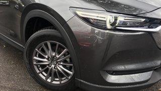 2018 Mazda CX-5 KF4WLA Maxx SKYACTIV-Drive i-ACTIV AWD Sport Grey 6 Speed Sports Automatic Wagon.