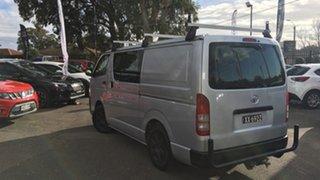 2015 Toyota HiAce KDH201R LWB Silver 5 Speed Manual Van.