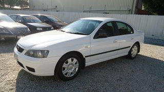2005 Ford Falcon BF XT White 4 Speed Sports Automatic Sedan.