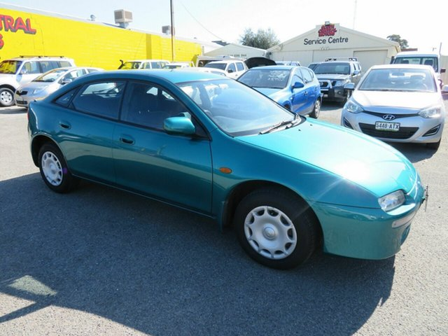 Used Mazda 323 Astina Morphett Vale, 1996 Mazda 323 Astina Green 4 Speed Automatic Hardtop