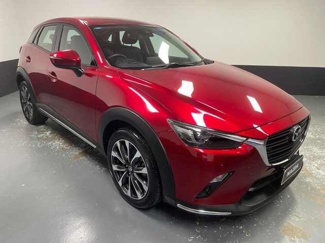 Used Mazda CX-3 DK2W7A sTouring SKYACTIV-Drive FWD Cardiff, 2019 Mazda CX-3 DK2W7A sTouring SKYACTIV-Drive FWD Red 6 Speed Sports Automatic Wagon