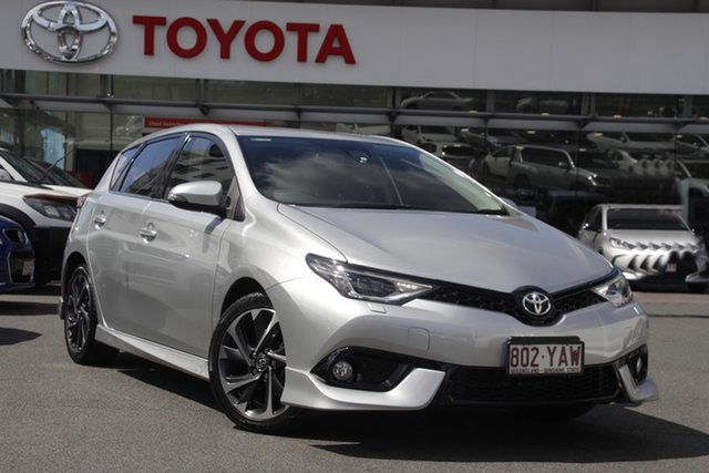 Pre-Owned Toyota Corolla ZRE182R ZR S-CVT Upper Mount Gravatt, 2018 Toyota Corolla ZRE182R ZR S-CVT Silver 7 Speed Constant Variable Hatchback