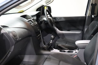 2017 Mazda BT-50 UR0YG1 XT 4x2 Hi-Rider Blue 6 Speed Manual Cab Chassis