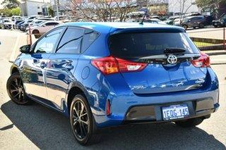 2014 Toyota Corolla ZRE182R RZ Blue 6 Speed Manual Hatchback.
