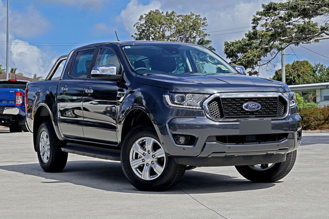 Used Ford Ranger PX MkIII 2021.25MY XLT Capalaba, 2021 Ford Ranger PX MkIII 2021.25MY XLT Grey 6 Speed Sports Automatic Double Cab Pick Up