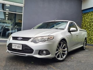 2012 Ford Falcon FG MkII XR6 Ute Super Cab Limited Edition Silver 6 Speed Sports Automatic Utility